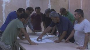 Image tirée du documentaire «Istiyad Ashbah», de Raed Andoni.