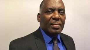 Biram Dah Abeid, opposant mauritanien à Paris, le 3 octobre 2019.