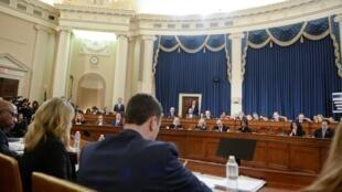 La commission judiciaire de la Chambre des représentants a validé l'acte d'accusation de Donald Trump le 13 décembre 2019.