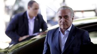 Michel Temer fica em São Paulo durante o fim de semana, antes de voltar para a capital federal.