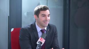 Julien Odoul sur RFI le 27 février 2020.