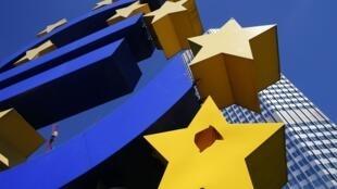 Après deux ans de récession, la zone euro fait un timide retour vers la croissance.