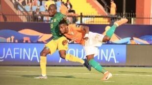 Jonathan Kodjia a inscrit le but de la victoire de la Côte d'Ivoire face à l'Afrique du Sud (1-0).