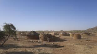 Norte do Burkina Faso. Imagem de Ilustração.
