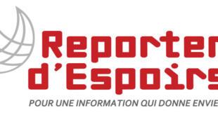 Le logo de Reporters d'Espoirs.
