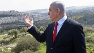 «J'ai de grandes nouvelles aujourd'hui. Nous ajoutons 2200 logements à Har Homa», a déclaré Benyamin Netanyahu le 20 février 2020, à 11 jours des troisièmes législatives en moins d'un an en Israël.