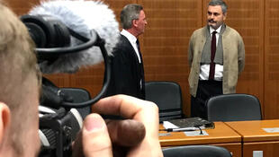 John Ausonius, à espera de julgamento no tribunal alemão.