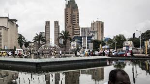 RDC, Kinshasa, vue de la ville (illustration), janvier 2019.