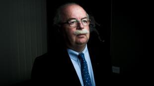 O presidente da Total, Christophe de Margerie