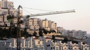 The Har Homa Jewish settlement near Jerusalem, 3 January, 2014