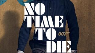 Áp phích phim No Time to Die.