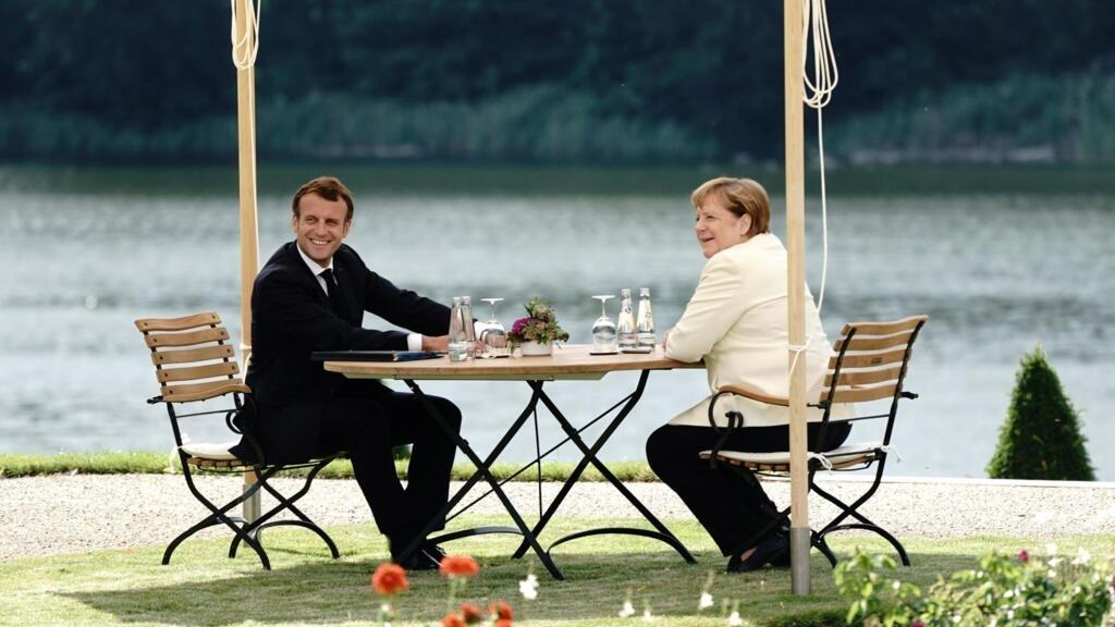 Merkel reçoit Macron à l'aube d'une décisive présidence de l'UE