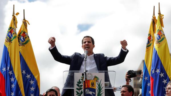 Juan Guaidó se auto-proclamou presidente interino da Assembleia Nacional da Venezuela