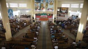 L'église de Cristo Risorto à Lomé, au Togo, le 25 août 2017 (Photo d'illustration).