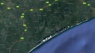 Moçambique: Estrada Nacional N°1 - EN1