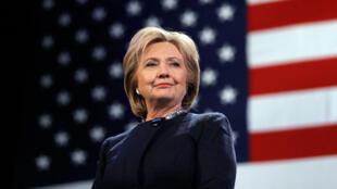 هیلاری کلینتون، نامزد حزب دموکرات