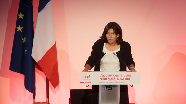 A prefeita de Paris, Anne Hidalgo, é uma das idealizadoras do novo movimento político.