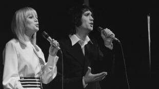 Ban song ca Stone & Charden biểu diễn cuối năm 1972 tại Olympia