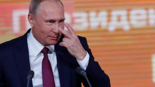 Владимир Путин на пресс-конференции 14 декабря 2017
