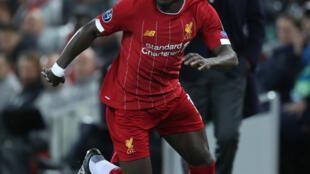Le Sénégalais Sadio Mané, joueur de Liverpool, termine 4e du Ballon d'Or 2019.
