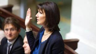 Министр бюджета Бельгии Софи Вильмес