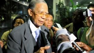 L'ancien président malgache Didier Ratsiraka (photo d'archives).