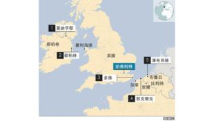 39人死的貨櫃卡車行程圖