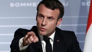 法國與薩赫勒5國集團峰會發表聯合聲明加強反恐合作。