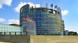 مقر پارلمان اروپا در شهر استراسبورگ.