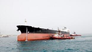 Le système imaginé par la France, l'Allemagne et le Royaume-Uni permettrait d'échanger des marchandises contre du pétrole (illustration)