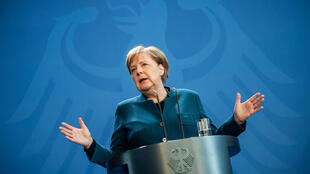 Merkel was going into quarantine came shortly after she gave a press conference in Berlin where she showed no symptoms of ill health