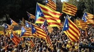 Passeata pela Independência da Catalunha