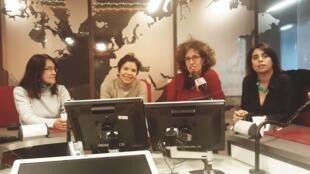 Ana Navarro Pedro, Maria Carolina Piña, Emmanuelle Bastide, Aysegul Sert commentent l'actualité.