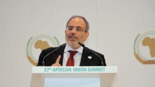 Carlos Lopes na Cimeira de Kigali, Julho de 2016