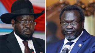 Shugaban kasar Sudan ta Kudu da tsohon mataimakin sa Rieck Mashar