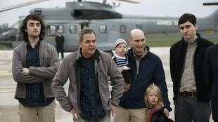 Four French journalists returned to France on Sunday after their captivity in Syria.