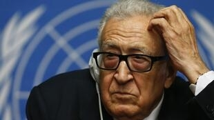 UN-Arab League envoy Lakhdar Brahimhas apologise for the collapse of the latest round of Syria peace talks in Geneva.