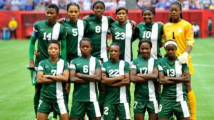 Les Nigérianes, lors de la Coupe du monde 2015.