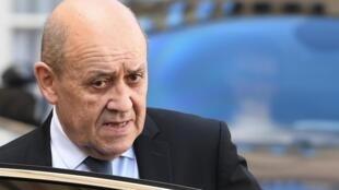 ژان ایو لودریان، وزیر امورخارجه فرانسه