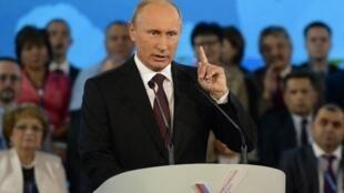 El presidente ruso Vladmir Putin.
