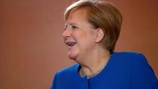 La chancelière allemande Angela Merkel à Berlin le 20 septembre 2019.