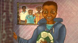 « Kitwana's Journey », il était une fois un garçon nommé Kitwana, un garçon qui riait, jouait, allait à l'école… Film d'animation de la réalisatrice kenyane Ng'endo Mukii, présenté au Festival international du court métrage de Clermont-Ferrand 2020.
