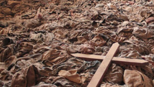 Clothing of Tutsi victims from the Nyamata memorial in Rwanda will be part of the Shoah Memorial exhibition in Paris