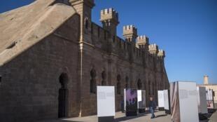 Lors de l'exposition d'inauguration du Musée national de la photographie à Rabat, le 15 janvier 2020.