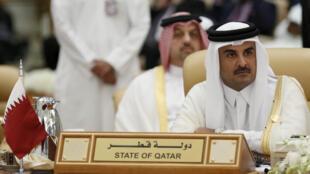L'émir du Qatar, Tamim Ben Hamad al-Thani.