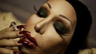 Cette photo d'Evangélia Kranioti, intitulée «Eu sou obscura para mim mesma», est extraite de la série «Obscuro Barroco».