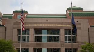 Trụ sở Công ty Bảo hiểm Ký thác Liên bang Hoa Kỳ (FDIC) tại Arlington, Virginia.