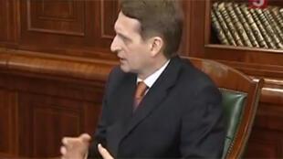 Сергей Нарышкин, спикер Госдумы
