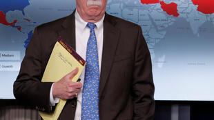Cố vấn John Bolton. Ảnh chụp tại Nhà Trắng ngày 28/01/2019