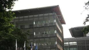 The hospital in Saint-Denis de la Réunion where the woman has been hospitalised.